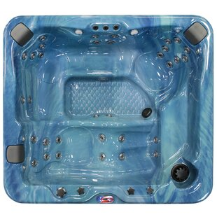 American Spas 6-Person 37-Jet Spa with Bluetooth Stereo System