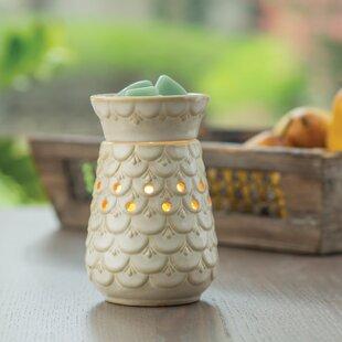 Scalloped Vase Illumination Fragrance Wax Warmer
