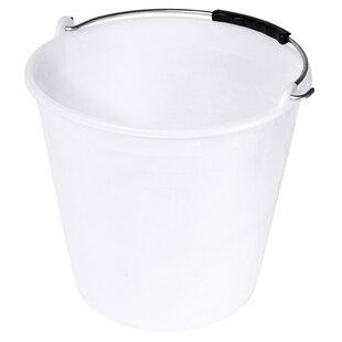 Plastic Bucket By Symple Stuff