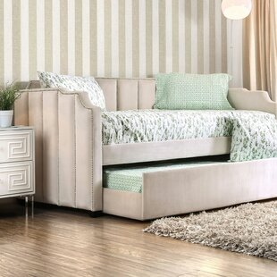 Melissa Twin Daybed with Trundle by Rosdorf Park