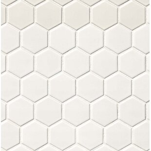 Hexagonal Tile Youll Love Wayfair - 4x4 white tile with gold specks