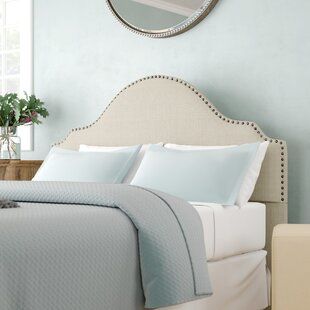 Clara Upholstered Panel Headboard by Three Posts