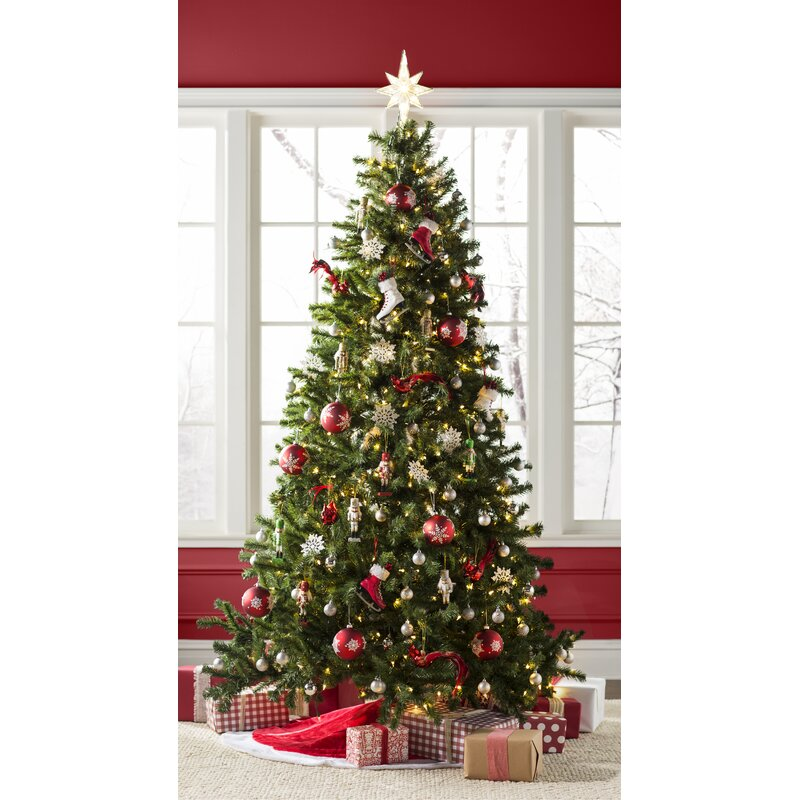 Beachcrest Home Green Spruce Artificial Christmas Tree ...