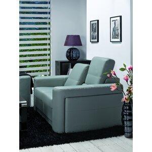 3-Sitzer Schlafsofa Acaia aus Leder von Home & Haus