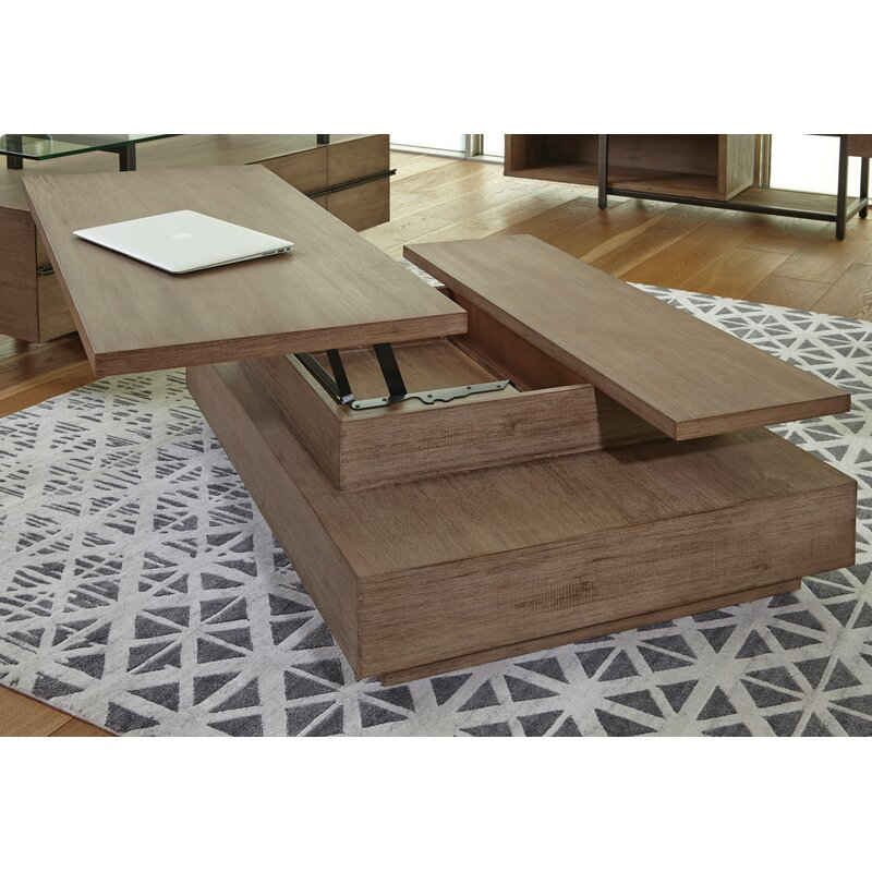 17 Stories Hadrian Rectangular Coffee Table With Lift Top