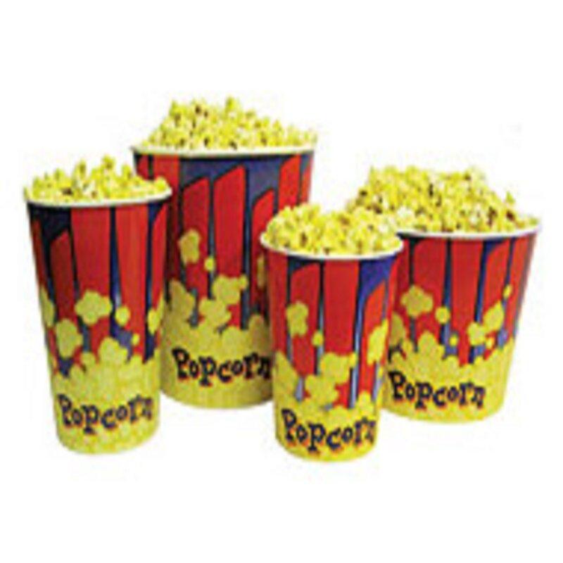 Benchmark USA Benchmark USA Popcorn Tubs (Set of 50)