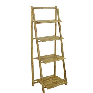 Major 4 Tier Ladder Bookcase by Bay Isle Home