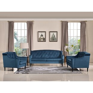 Great Price Crewkerne Configurable Living Room Set by Mercer41 Reviews (2019) & Buyer's Guide