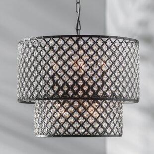 Fabrizia 8-Light LED Crystal Chandelier by Willa Arlo Interiors