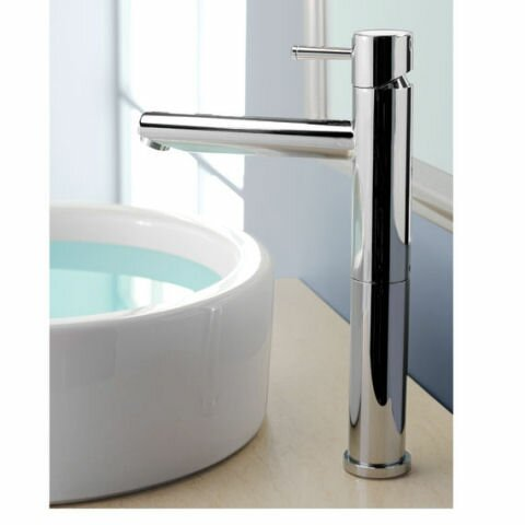 Serin Single Hole Bathroom Vessel Faucet With