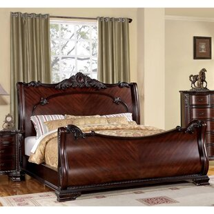 Goldville Sleigh Bed