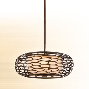 Bloomsbury Market Jordahl 3-Light Drum Pendant