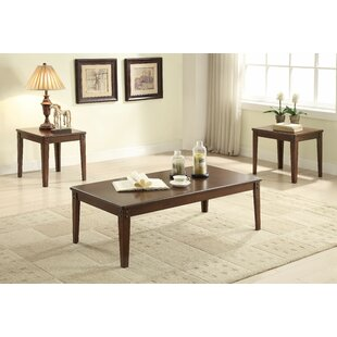 Alizeh 3 Piece Coffee Table Set by Charlton Home