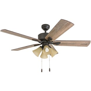 Affordable 52 Ugaddan 5 Blade Ceiling Fan By Millwood Pines