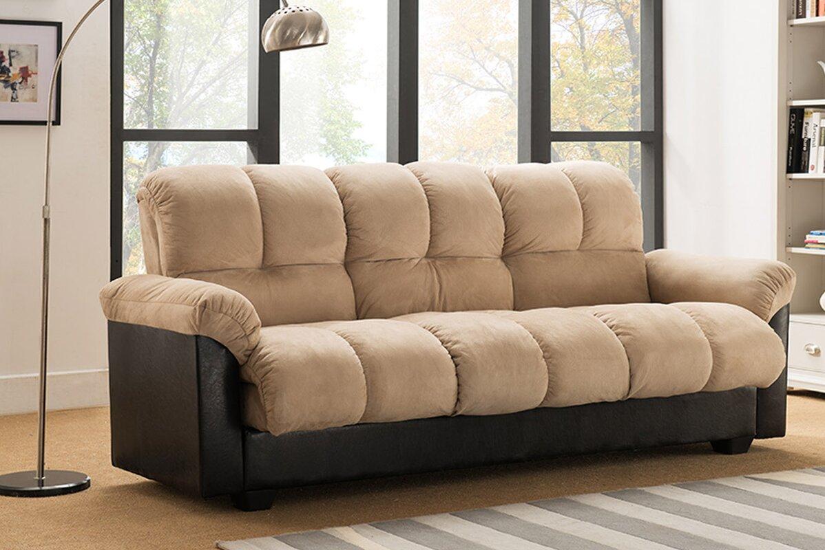 Capri Storage Convertible Sofa