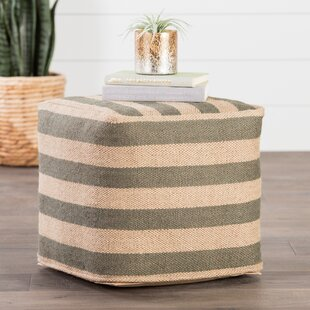 Affordable Thornton Pouf By Beachcrest Home
