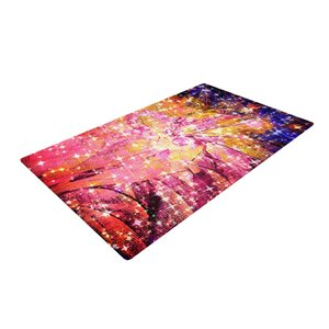 Ebi Emporium Out There Pink/Yellow Area Rug
