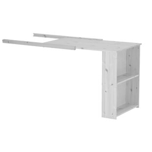 Flexa Basic Hit Extendable Writing Desk For Mid Height Beds By Ebern Designs