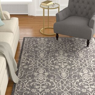 Bedervale Charcoal Indoor/Outdoor Area Rug