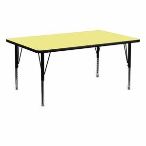 dining room table 36 x 72. thermal fused laminate top 72\u0027\u0027 l x 36\u0027\u0027 w rectangular activity table dining room 36 72