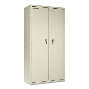 72 H x 36 W x 19.25 D 2 Door Storage Cabinet by FireKing