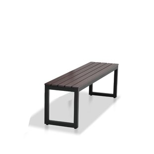 Alissa Aluminium Picnic Bench by 17 Stories