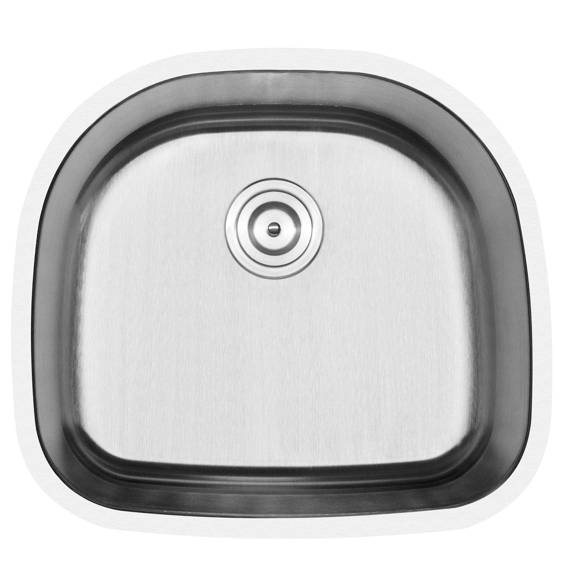 Phoenix Foster Series Stainless Steel 23 5 L X 21 W Undermount Kitchen Sink Wayfair