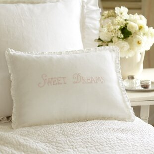Sweet Dreams Linen Lumbar Pillow