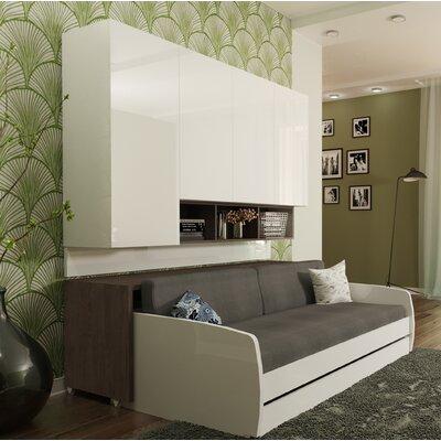 Pleasant Rincon Compact Fulldouble Murphy Bed Brayden Studio Color Creativecarmelina Interior Chair Design Creativecarmelinacom