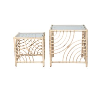 Mann Swirl 2 Piece Nesting Tables