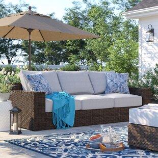 Oreland Patio Sofa with Cushions