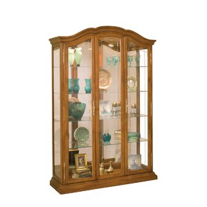 La Grange Lighted Curio Cabinet by Philip Reinisch Co.