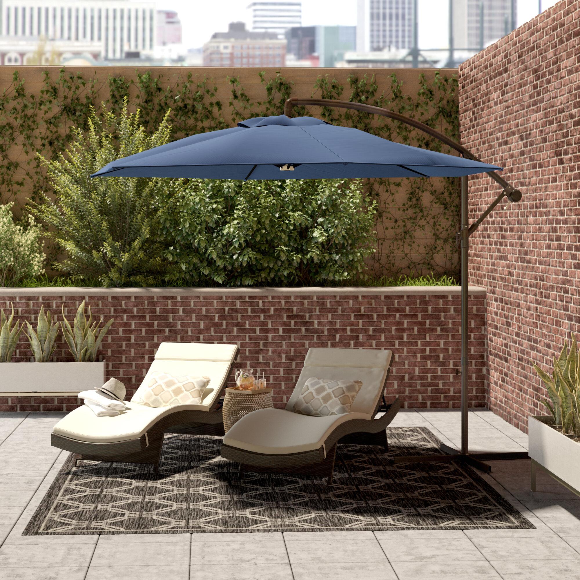 Latitude Run 10 Cantilever Umbrella Reviews Wayfair