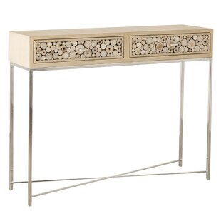 Tish Wooden Circles Console Table By Bloomsbury Market