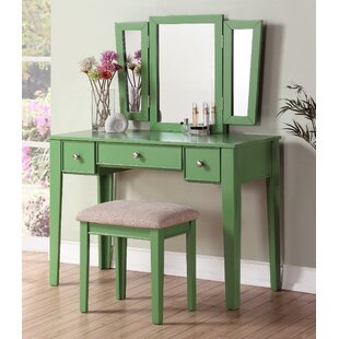 Runcorn Vanity Set with Mirror