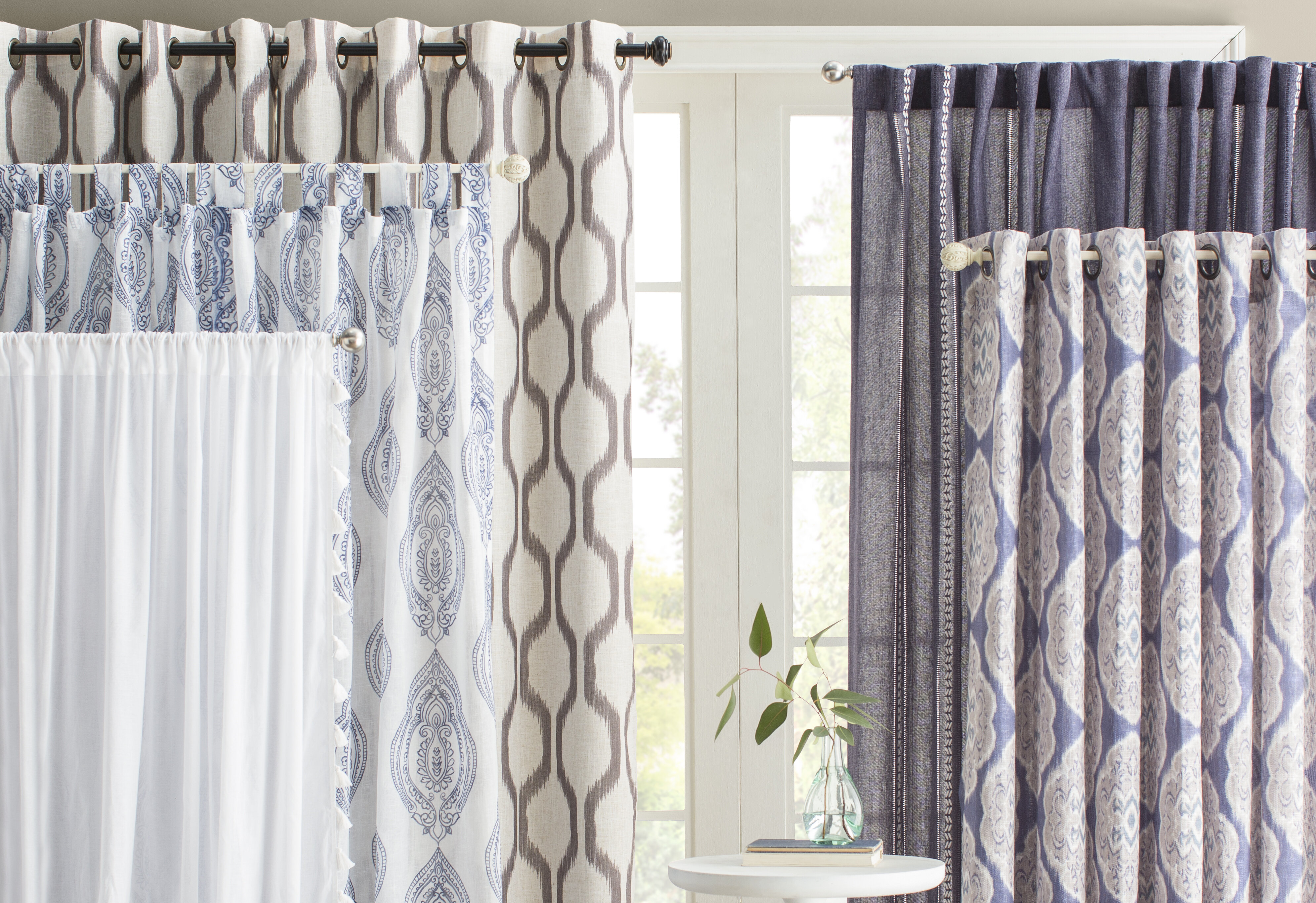 patterned size home at white panel valance panels full grommet inch shops curtain teal stunning curtains store of large