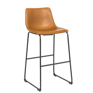 Seals Vintage 29 Bar Stool (Set of 2) by Williston Forge