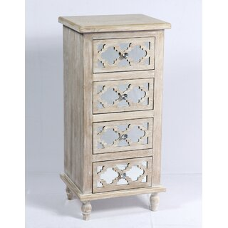 Amanda 4 Drawer Accent Chest by Ophelia & Co. SKU:CD558518 Purchase
