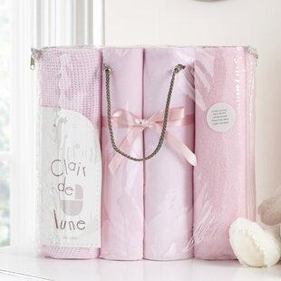 Bale Gift 4 Piece Cot Bedding Set by Clair De Lune