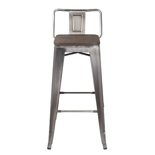 Great Price Mcsweeney Low Back 30 Bar Stool by Williston Forge Reviews (2019) & Buyer's Guide