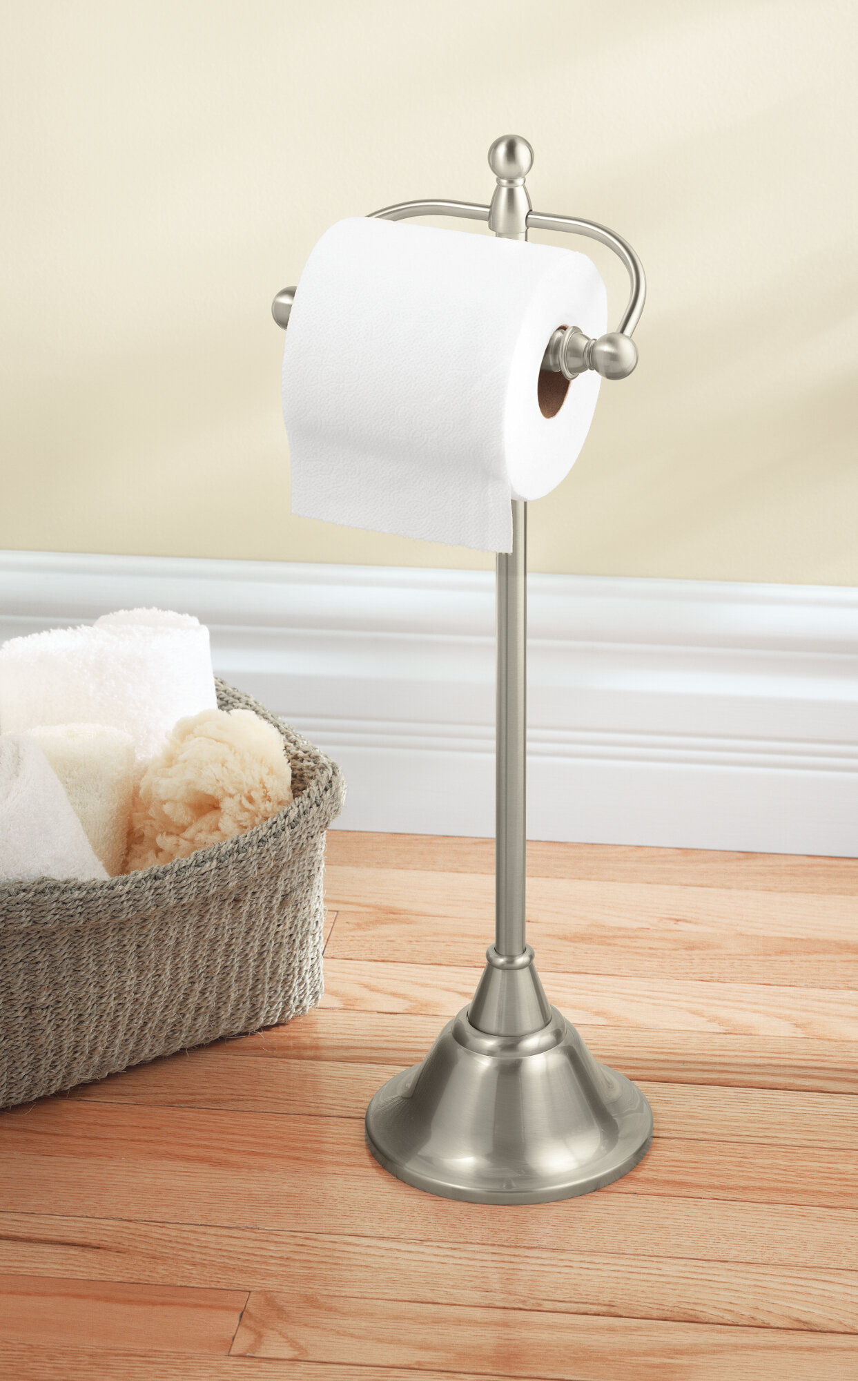 Dn6850bn Moen Sage Free Standing Toilet Paper Holder Reviews Wayfair