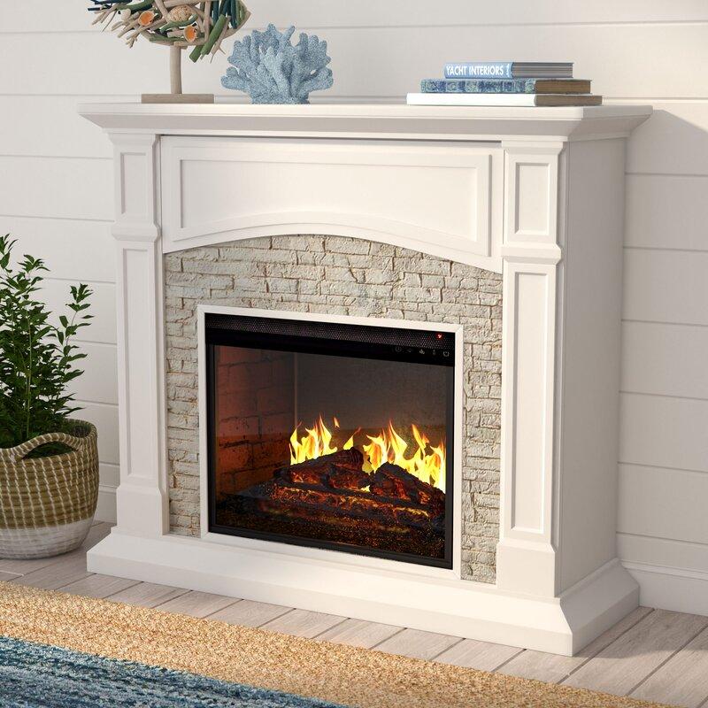 Alcott Hill Contreras Infrared Electric Fireplace Reviews Wayfair
