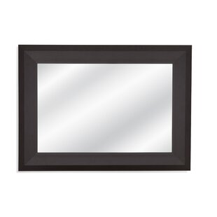 ecf12eaed518 Rectangle Black Frame Accent Mirror