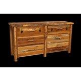 Jorgensen 6 Drawer Double Dresser by Loon Peak®