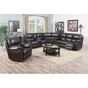 Avalon Furniture Tombstone Reclining Sectional