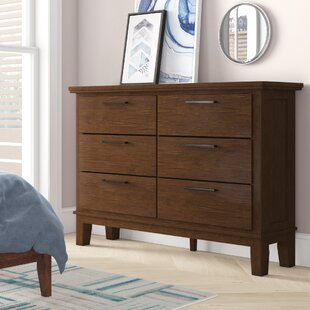 Hylan 6 Drawer Double Dresser