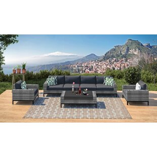 Hillsboro 7 Piece Sofa Seating Group with Cushions