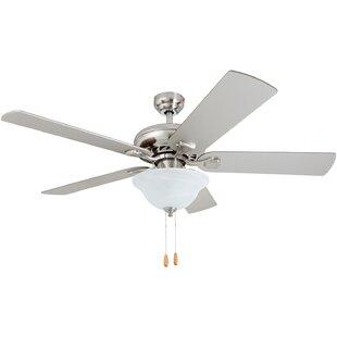 Read Reviews 52 Hocker 5 Blade LED Ceiling Fan By Winston Porter