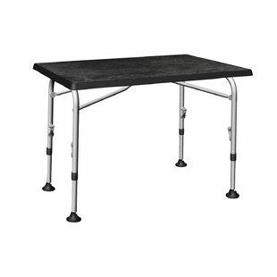 Hosley Folding Aluminium Dining Table By Symple Stuff