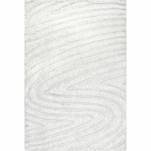 Best Montpetit Hand-Woven Off White Area Rug By Orren Ellis